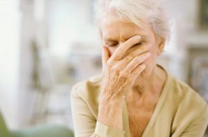 Проявления сосудистой деменции
