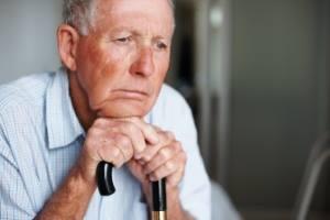 Человек с болезнью Паркинсона