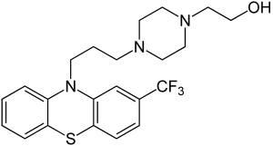 Формула флуфеназина