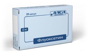 Препарат флуоксетин
